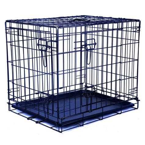 Cani In Gabbia - gabbia in metallo per cani da trasporto pacopetshop