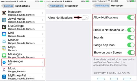 push notifications iphone not working how to fix iphone messenger notification not working