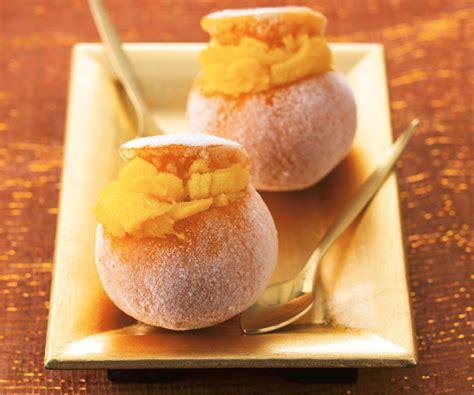 dessert a base de clementine dessert gourmand cl 233 mentines givr 233 es
