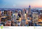 De Stad van New York, de V stock foto. Afbeelding ...