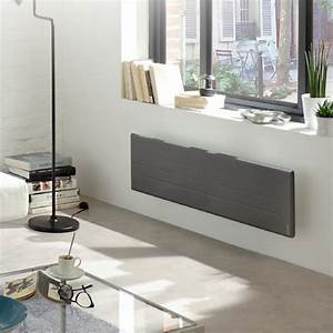 Radiateurs Plinthes Zehnder : oniris connect gris anthracite plinthe digital ~ Premium-room.com Idées de Décoration