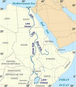 White Nile River Map | www.pixshark.com - Images Galleries ...