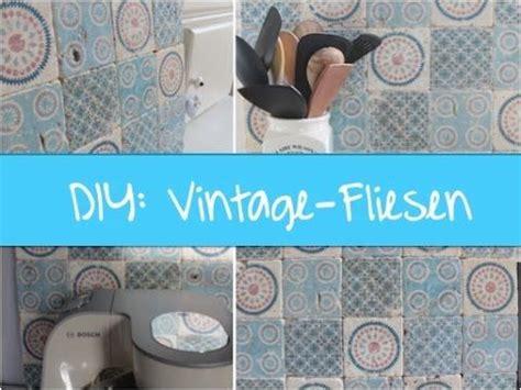 Diy Vintagefliesen Selber Machen  Variante #1