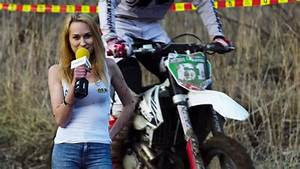 Reporter Takes A Face Full Of Dirt From Mx Rider Like A Champ