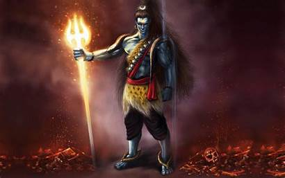 Shiva Lord Angry Wallpapers Drink Cannabis Bhang