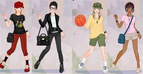 Tomboy girl dress up game by Pichichama on DeviantArt