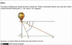 Nullstellen Berechnen Sinus : trigonometrie bestimme in welcher h he der ballon schwebt aufgabe f r emre123 mathelounge ~ Themetempest.com Abrechnung