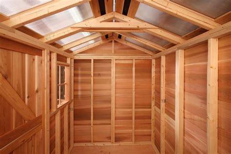small hobby house kits diy prefab sheds sale cedarshed usa