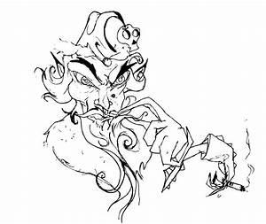 Drawing A Bad Bear