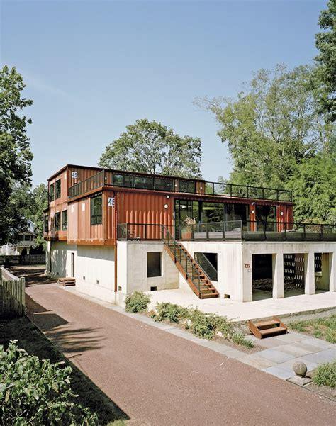 shipping container house dwell boxes modern shipping container homes are unique eco friendly Hightree