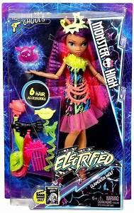 Monster High Electrified Clawdeen Wolf Doll Mattel Toys