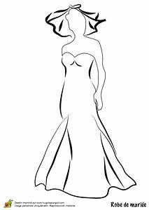 dessin coloriage robe de mariee coloring pinterest With coloriage robe