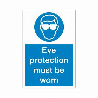Protection Eye Sign Mandatory Safety Label Signs