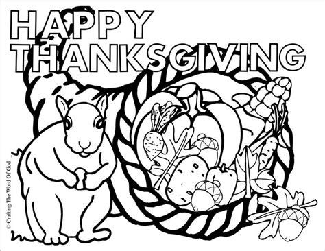 thanksgiving cornucopia crafting  word  god