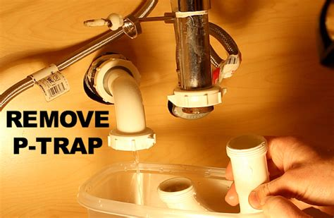 bathtub drain trap removal how to clean a stinky sink drain and instantly stop