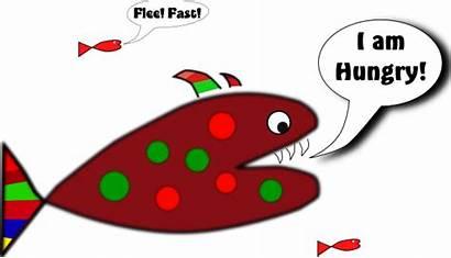 Funny Fish Clip Clipart Svg Clker Vector