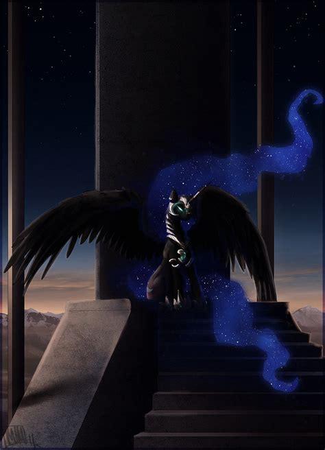 nightmare moon   pony zerochan anime image board