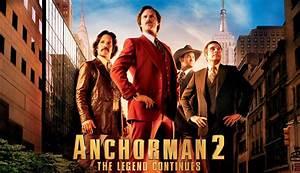 Anchorman 2: The Legend Continues Quad Poster slice - HeyUGuys