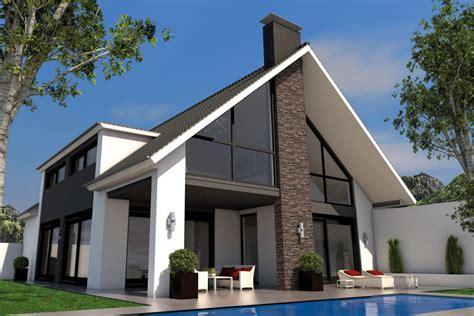 Moderne Häuser Dach by Satteldach Gaube Iqhausbau