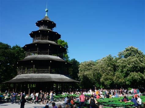 Englischer Garten München Chinesischer Turm Anfahrt by Bierg 228 Rten M 252 Nchen Chinesischer Turm