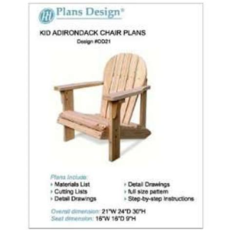 oversized adirondack chair plans easy woodworking project