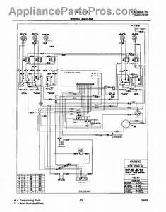 Parts For Frigidaire Glef378aqf  Wiring Diagram Parts