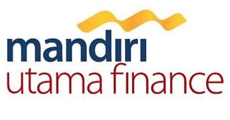 lowongan kerja pt mandiri utama finance mandiri