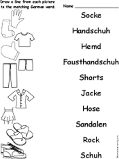 clothes clothing words   languages