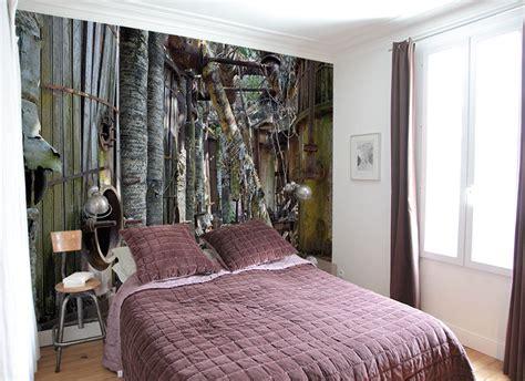 tapisserie pour chambre adulte tapisserie originale chambre maison design bahbe com
