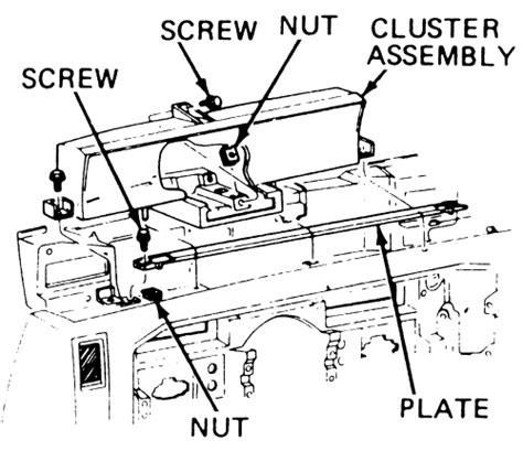 auto manual repair 1996 cadillac eldorado instrument cluster repair guides instruments and switches instrument cluster autozone com