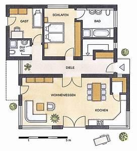 Grundrisse Für Bungalows 4 Zimmer : bungalow grundrisse ~ Sanjose-hotels-ca.com Haus und Dekorationen