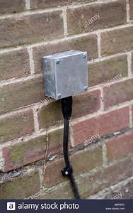 External Electric Box Junction Box Stock Photo  22618006