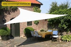 sonnenschutz im garten sonnensegel markise With feuerstelle garten mit sonnensegel markise balkon