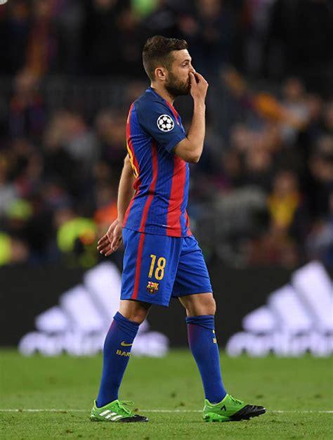 Barcelona Transfer News Jordi Alba Hints At Chelsea Or