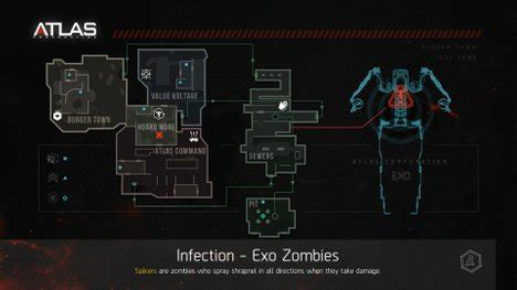 exo zombies infection infection call of duty advanced warfare wiki guide ign