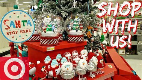 shop   target christmas decorations prep  youtube