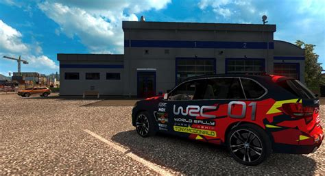 Mod Bmw X5 Truck Simulator 2 by Bmw X5 World Racing Chionship 1 28 X Car Mod