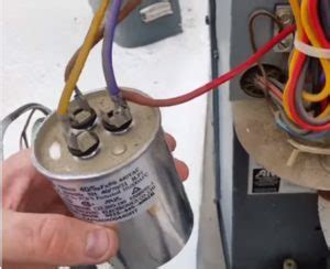how to go from a dual capacitor to a single in a air conditioner hvac how to