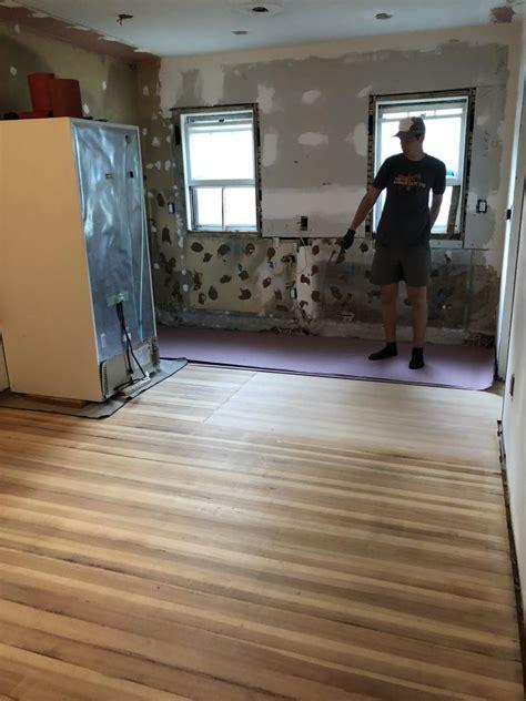 finish wood floors  match    wood