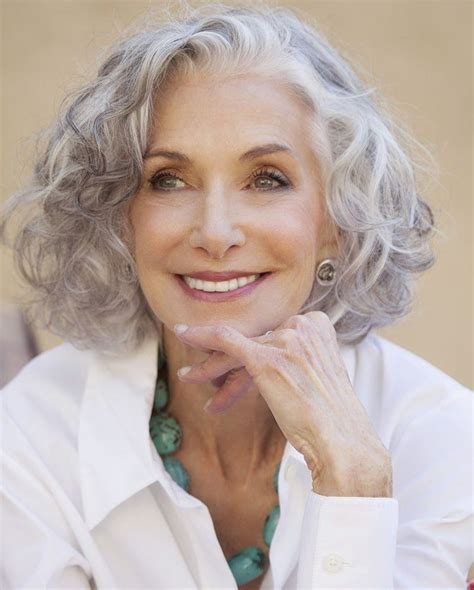 short gray hairstyles  older women   gray hair
