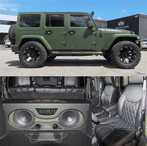 custom jeep interior mods this jeep wrangler got some major league mods jk forum