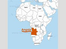 Angola Landmines Map