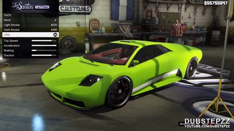 gta   infernus customisation gameplay youtube