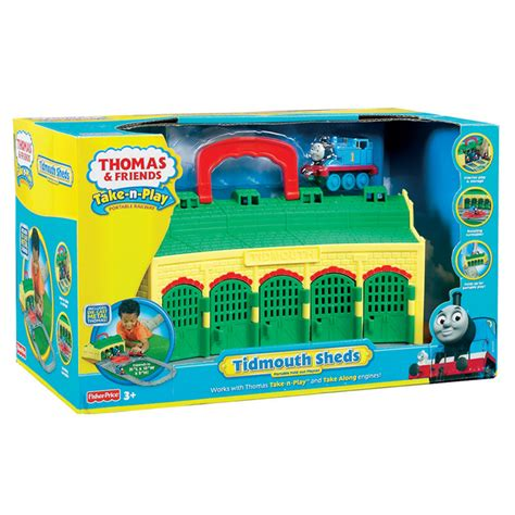 tidmouth sheds playset from thomas take n play wwsm