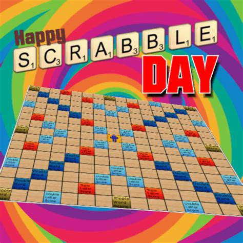scrabble day ecard national scrabble day ecards greeting cards