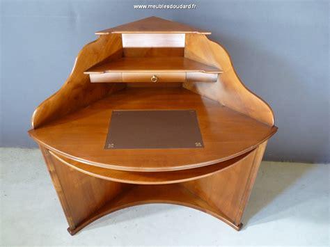 bureau d angle en bois massif bureau d 39 angle merisier louis philippe