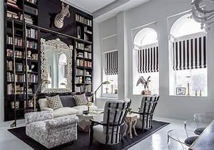 Bibliothèque Moderne Design : biblioth que moderne la maison 20 id es pour l 39 int rieur contemporain ~ Teatrodelosmanantiales.com Idées de Décoration