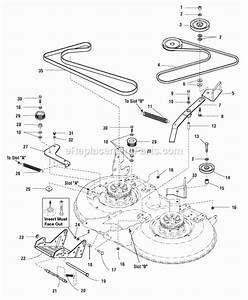 Snapper Lt2040 Parts List And Diagram