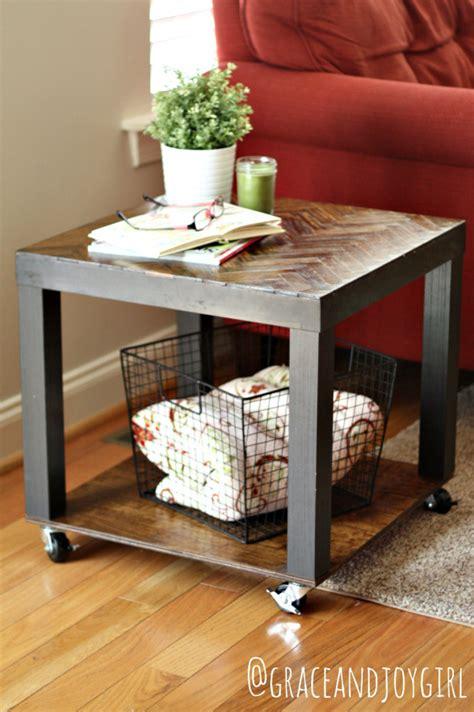 remodelaholic  bargain  beautiful  stylish ikea lack table hacks