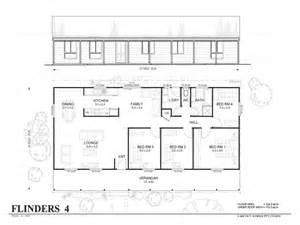 simple four bedroom house plans 4 bedroom metal home floor plans simple 4 bedroom floor